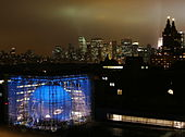 Hayden planetarium at night.jpg