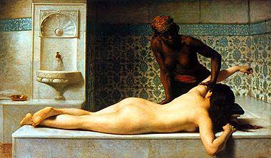 Eine erotische massage was ist Schlanke schöne